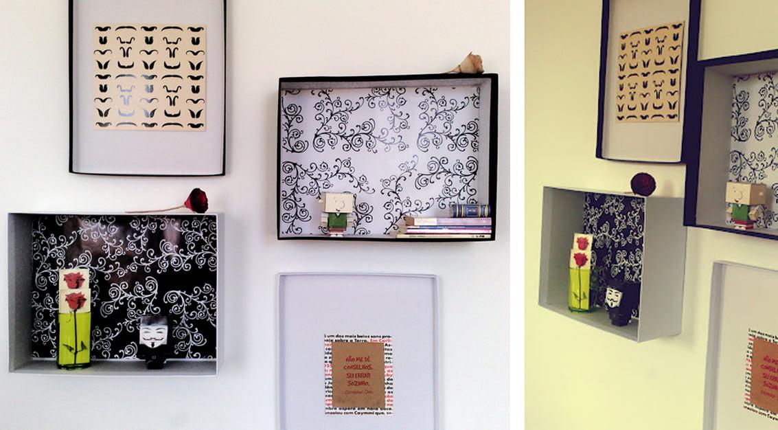 Criando em casa: parede decorada