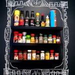 Ambientes e objetos decorados com tinta de quadro-negro