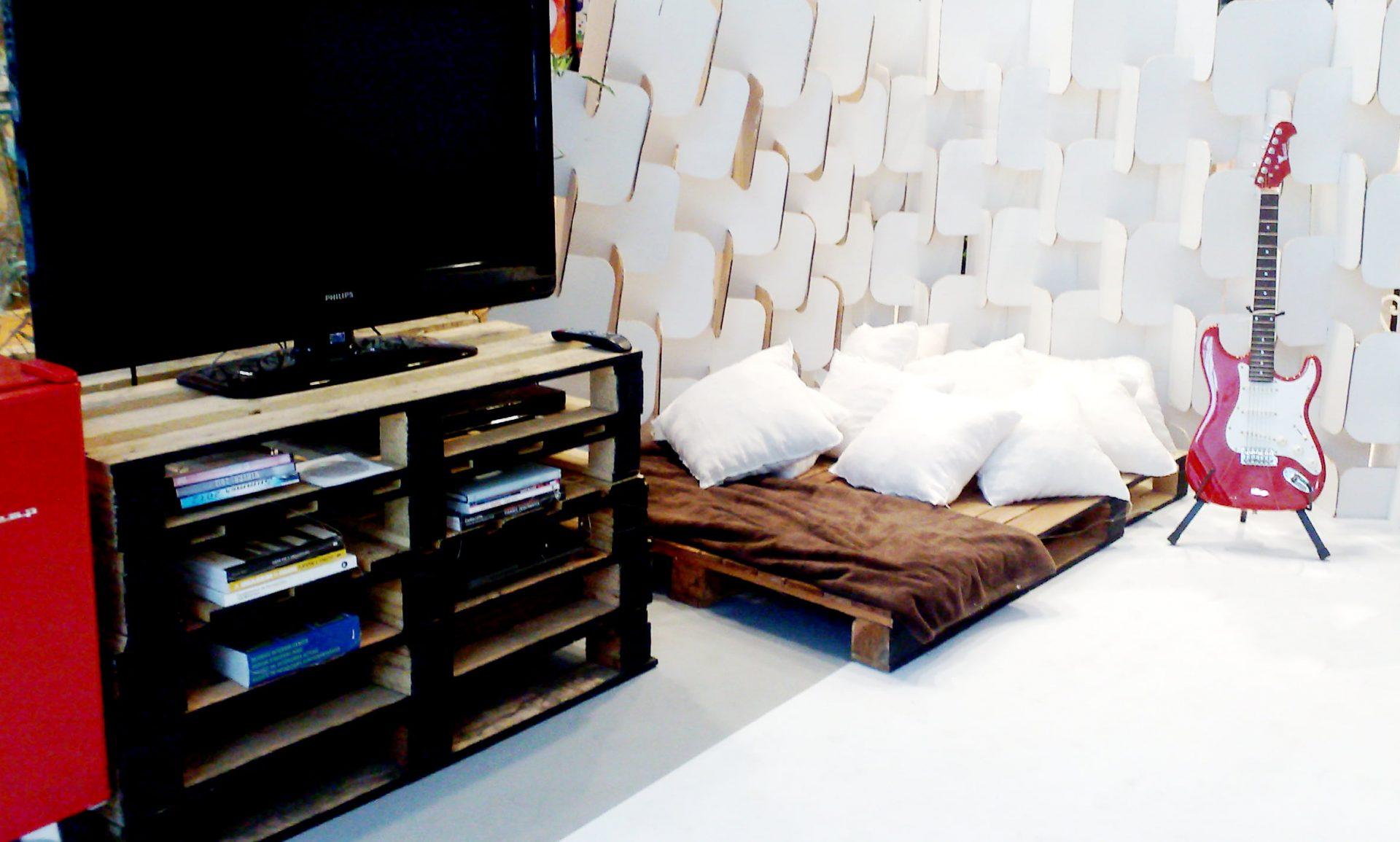 ambientes decorados com objetos reciclados Mania de Decoração #AF0812 2364x1422