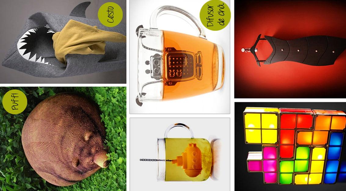 Desejos do dia: puff de urso, difusores de chá e outros objetos supercriativos!