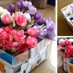 Criando em casa: cesta de papel