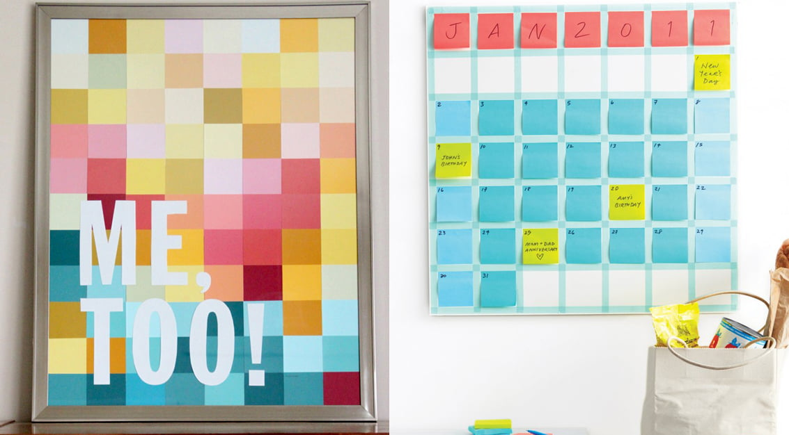 DIY: quadro de post-its!