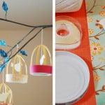 DIY: delicadas gaiolas de papel