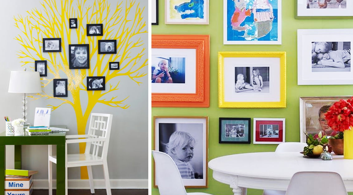 Inspiração do dia: fotografias na decoração