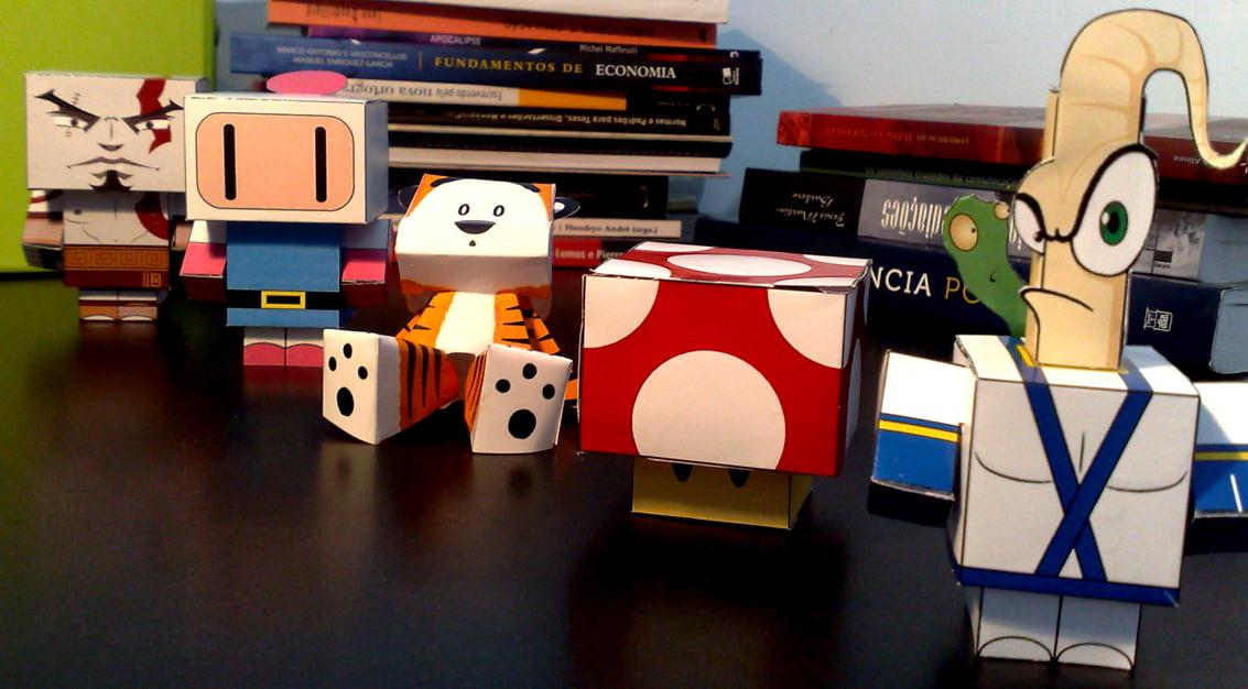 Inspiração do dia: papel na decoração