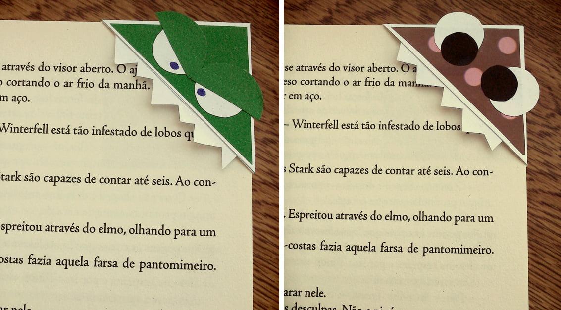 DIY: marcadores de livros divertidos!