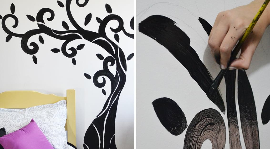 Pintura na parede - como fazer