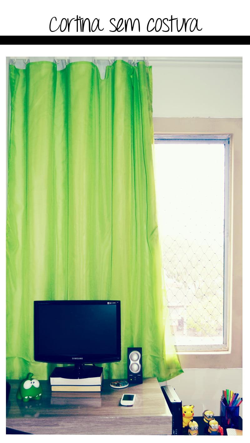 01 cortinasemcostura1 Como fazer cortinas sem máquina de costura