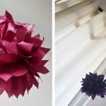 Criando em casa: flores de papel