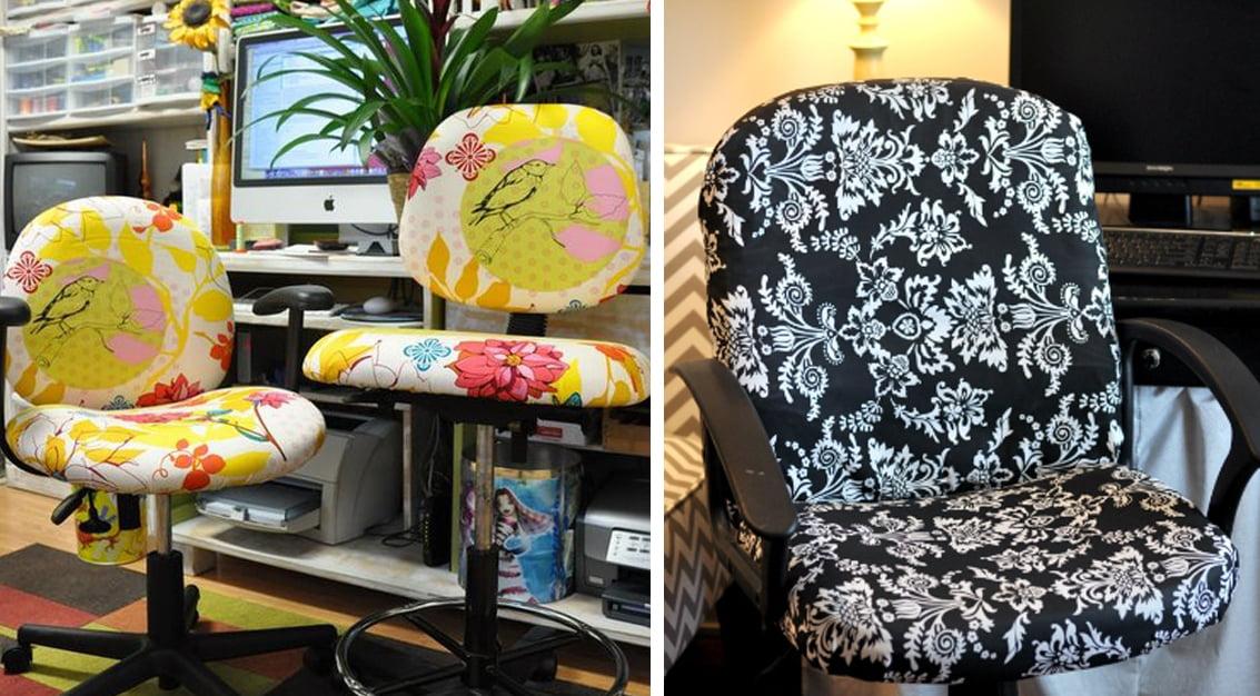 DIY: encapando e renovando a cadeira de escritório