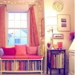 Inspiração do dia: livros na decoração