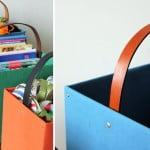 DIY: Aproveitando caixas de papelão na organização da casa
