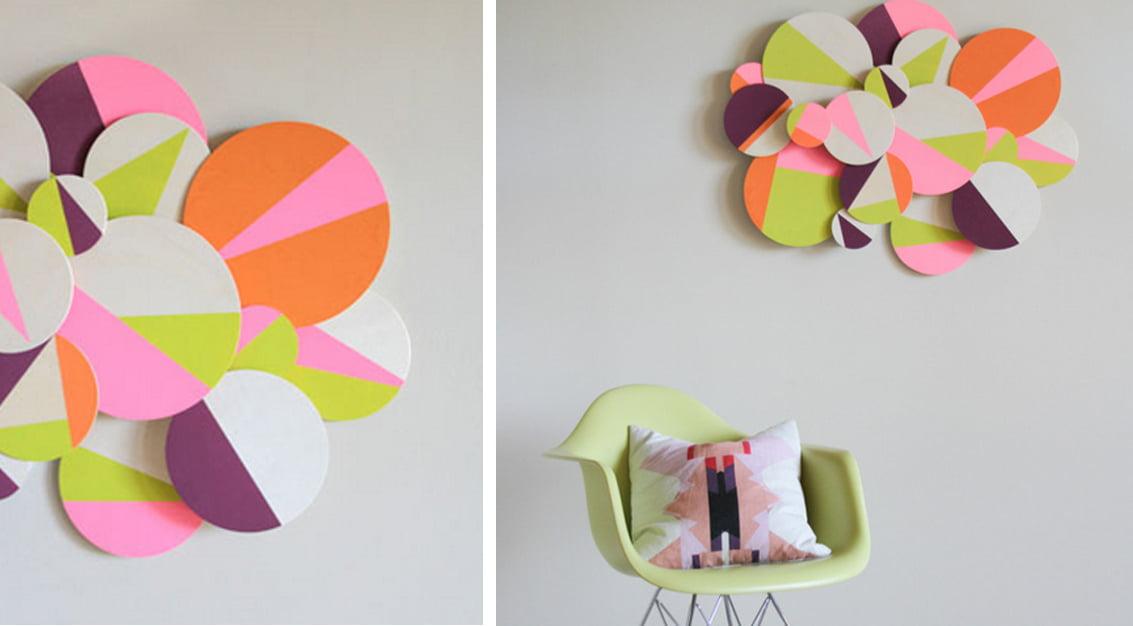 DIY: faça um lindo e criativo mural 3D