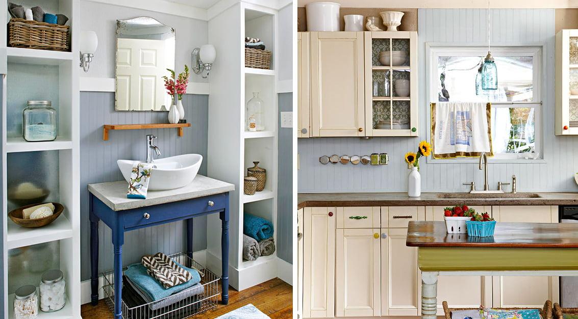 DIY: casa vintage com decoração acessível