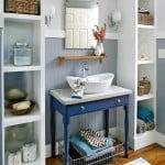 Casa vintage com decoração acessível
