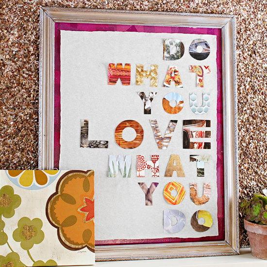 decoracao banheiro diy:Quadros com tipografia são ótimas opções de decoração para