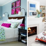 Inspiração do dia: cores na decoração do quarto!
