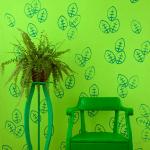 DIY: carimbo na parede!