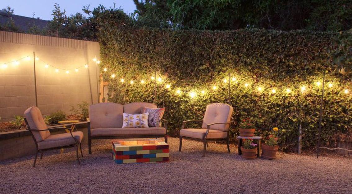 Decoração rústica para chácara ou quintal