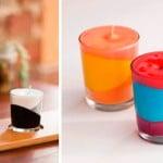 Como fazer velas decorativas