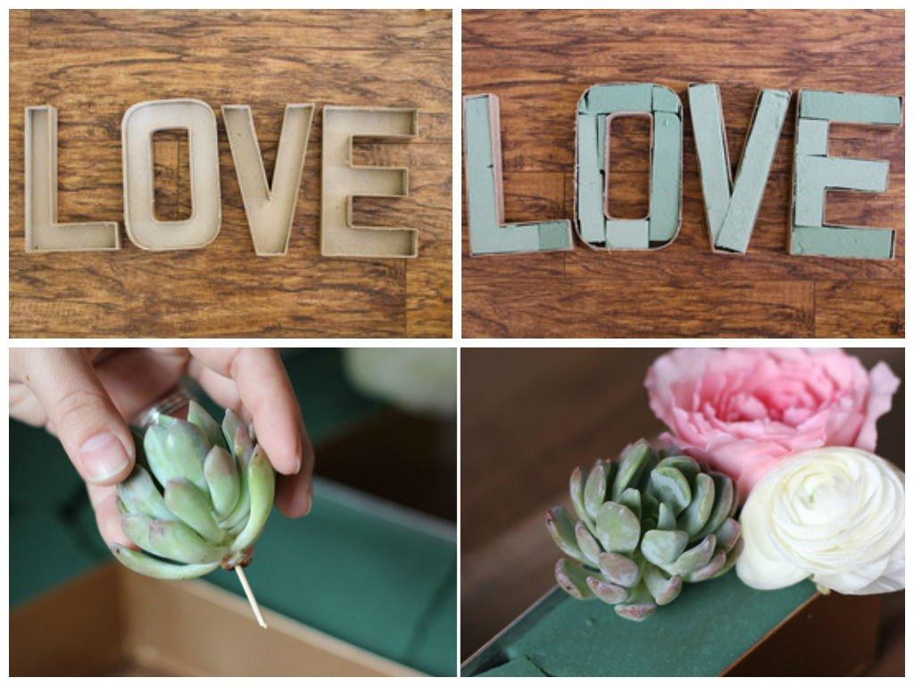 Como-fazer-letras-de-papelão-flores-tutorial-diy