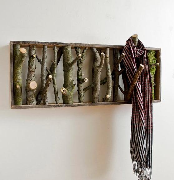 Decoração-com-ramos-galhos-e-madeira-pendurador