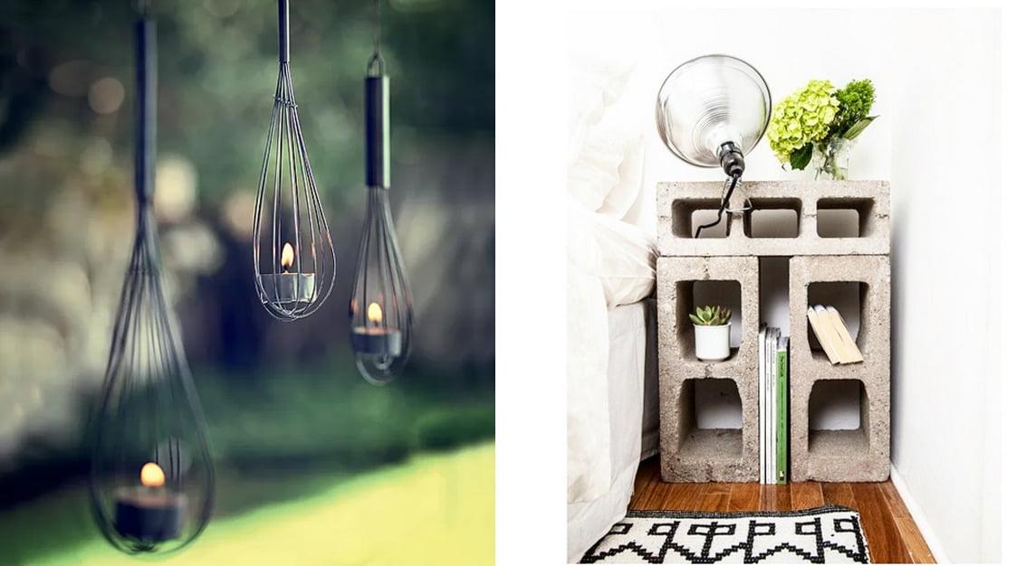 Ideias criativas de decoração - DIY