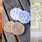 Corda na decoração – ideias e objetos úteis