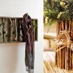 Decoração com ramos, galhos e madeira – inspire-se!