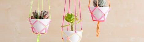 Como fazer suporte para pendurar plantas