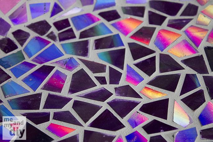 mosaico-com-cd-pedaços-detalhe