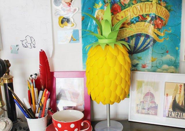 como-fazer-luminaria-de-mesa-abacaxi