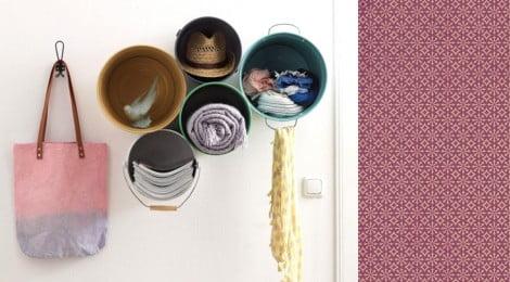 Como fazer estante com baldes