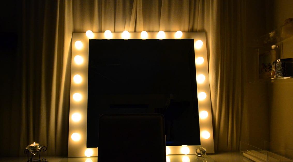 Como Fazer Espelho Com Luzes Mania De Decora 231 227 O