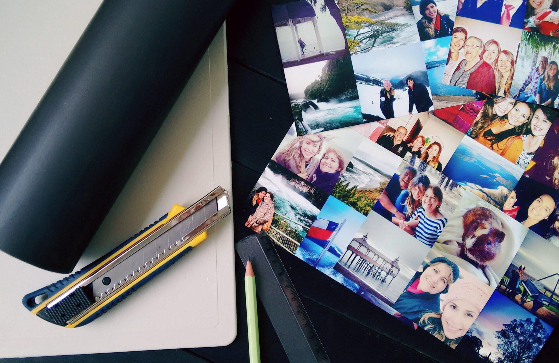 Como-fazer-ímã-de-geladeira-com-foto-materiais