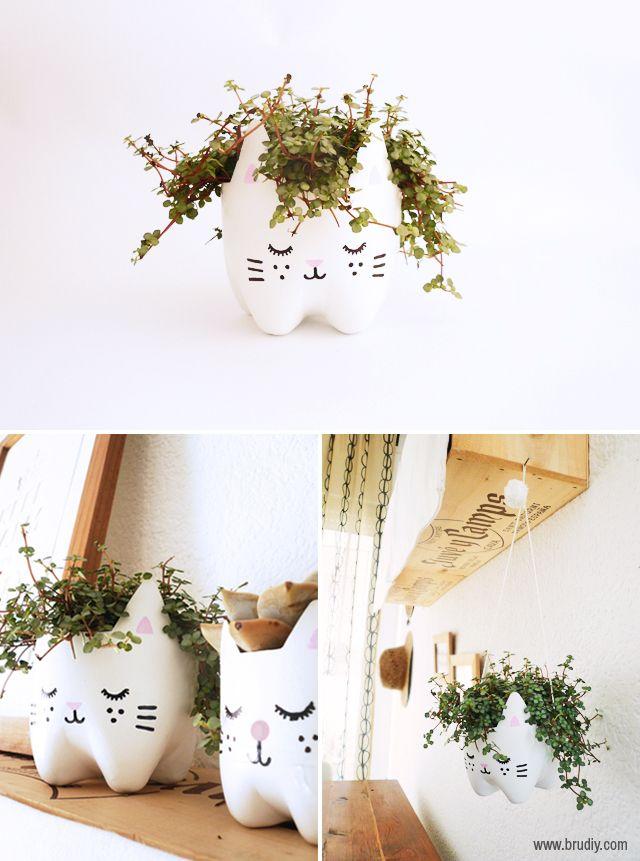 Vaso-de-flores-com-garrafa-PET-resultado