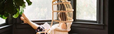 Tendência: cadeira de pendurar