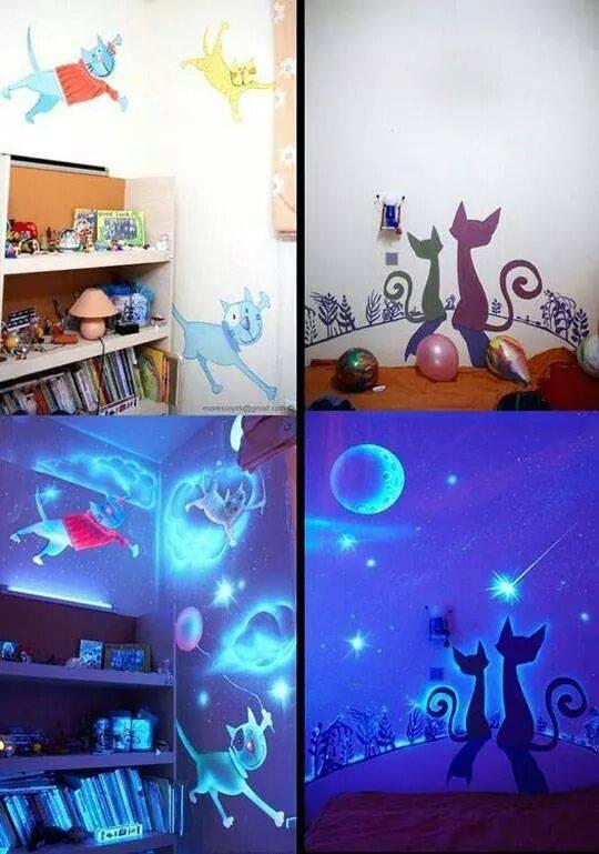 como-decorar-sem-furar-a-parede-adesivos-brilho