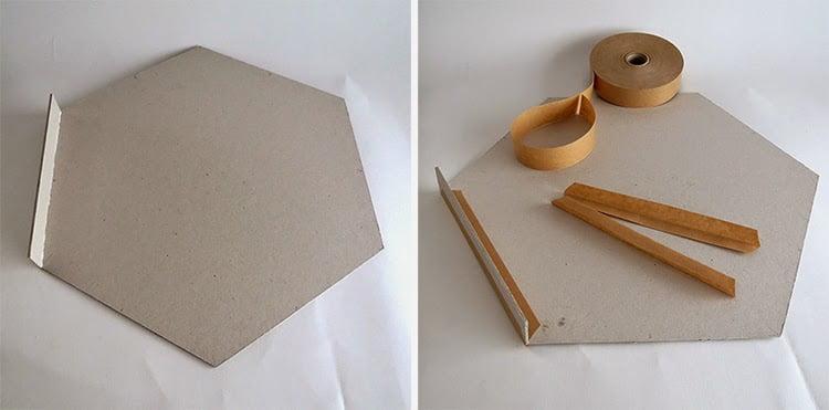 Favoritos Como fazer bandeja com papelão - Mania de Decoração ST63
