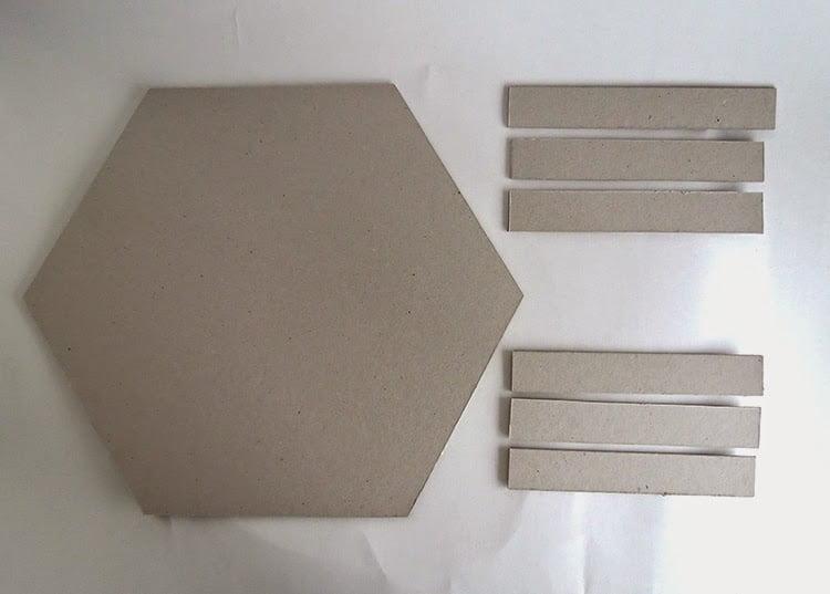 Excepcional Como fazer bandeja com papelão - Mania de Decoração OI52