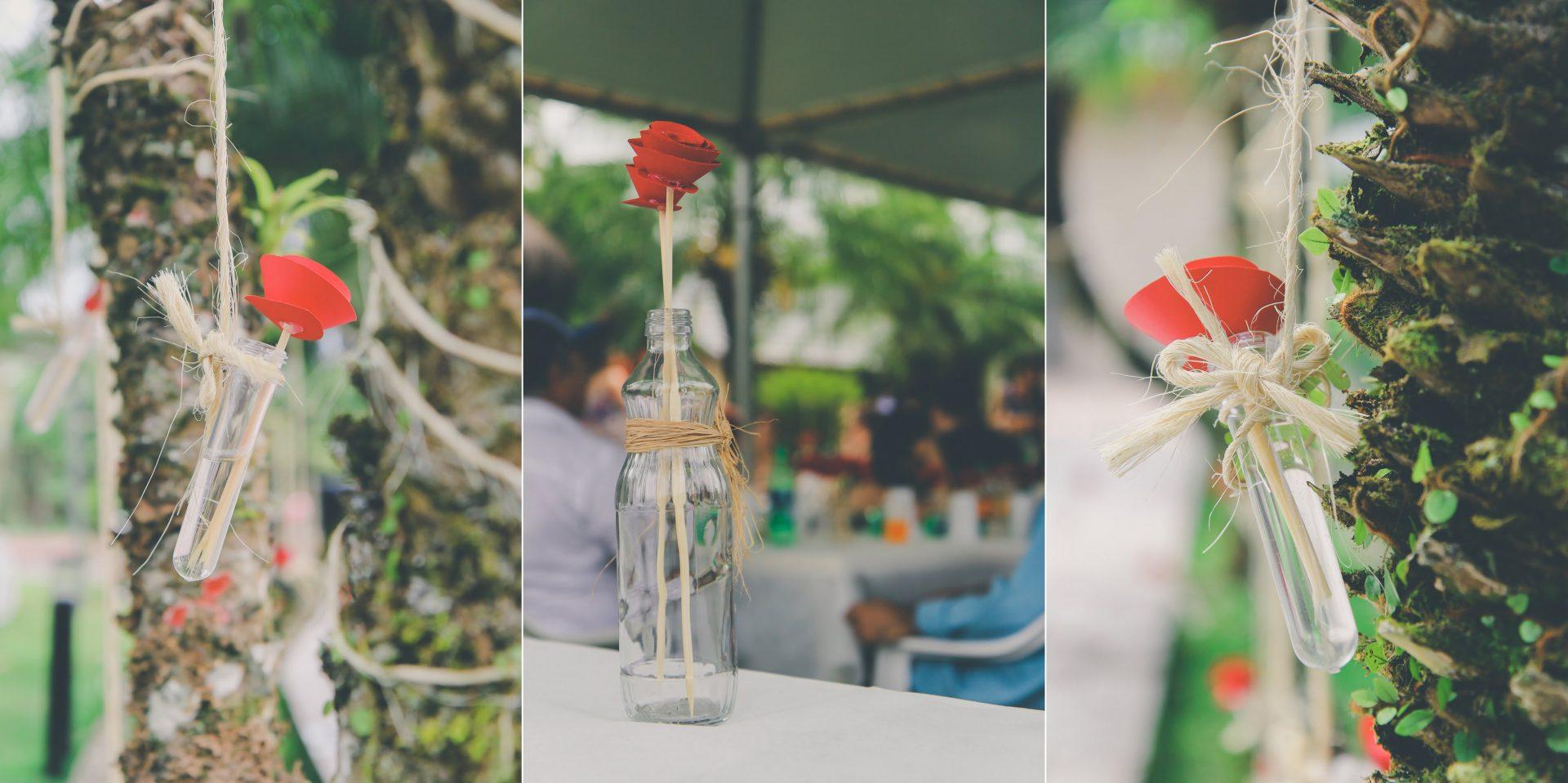 decoracao-criativa-para-casamento-vasos
