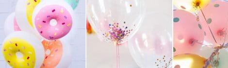 Como encher balões rapidamente sem Hélio