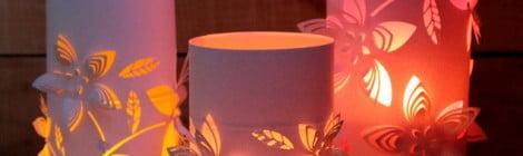Como fazer lanternas de papel 3D