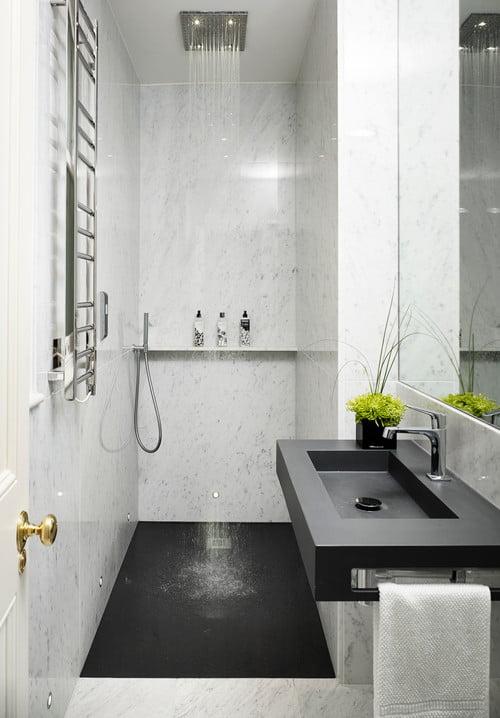 Decora o de banheiro quais as plantas ideais para este Small ensuites designs