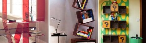 Para os amantes de livros: 19 prateleiras criativas