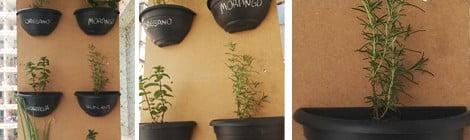 Como fazer uma horta vertical - DIY