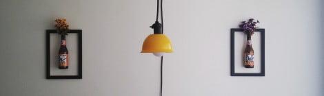 Como fazer uma luminária de teto com 35 reais