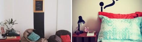 Decoração com papel contact - Minha casa