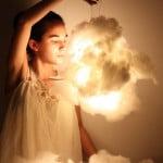 Como fazer uma luminária de nuvem – DIY
