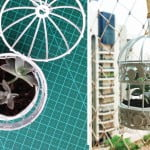Gaiola na decoração – DIY – vaso para suculentas